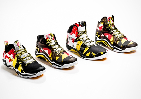 "Under Armour Basketball ""Maryland Pride"" Collection"