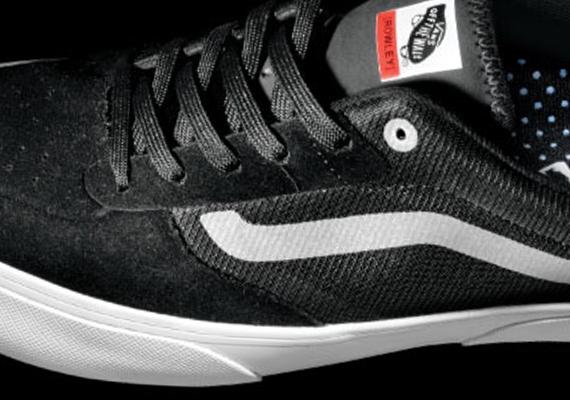 094f6267d8 Vans Rowley Pro Lite - Black - White - SneakerNews.com