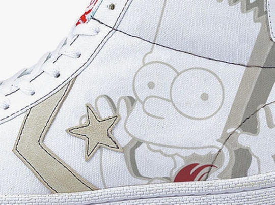 XLarge x The Simpsons x Converse Pro Leather Canvas Hi