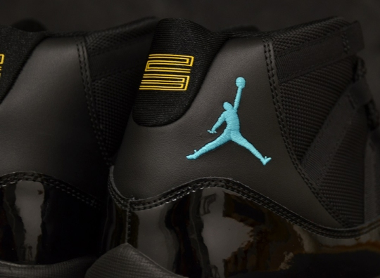 Air Jordan XI Retro – Black – Gamma Blue – Varsity Maize