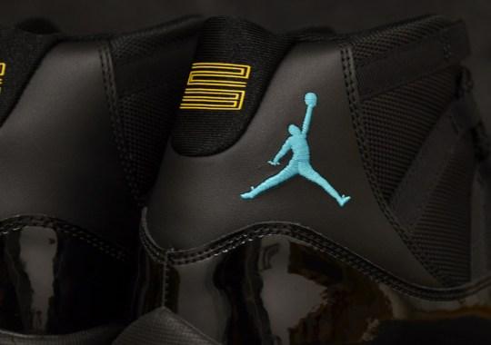 Air Jordan XI Retro – Black – Gamma Blue – Varsity Maize