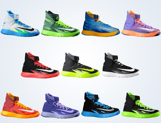 11 Different Nike Zoom Hyperrev Colorways Releasing in January 2014