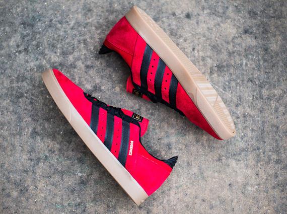 adidas Busenitz ADV Red Black Gum