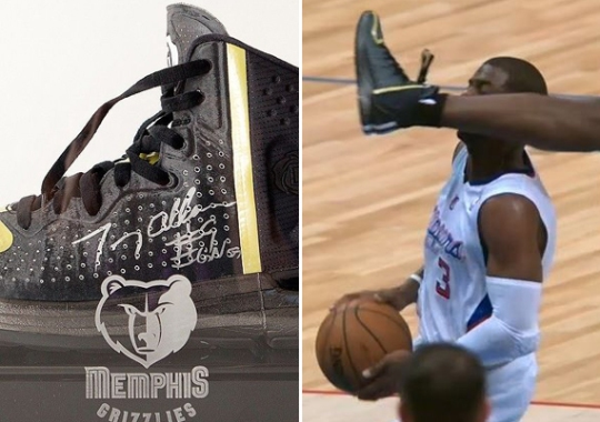 """Tony Allen Auctions Off Autographed adidas Rose 4 """"Chris Paul"""" Shoe for Charity"""