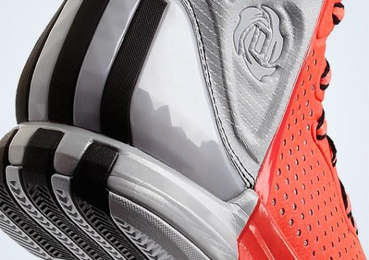 adidas Rose 4 – Pop – Black – Clear Grey