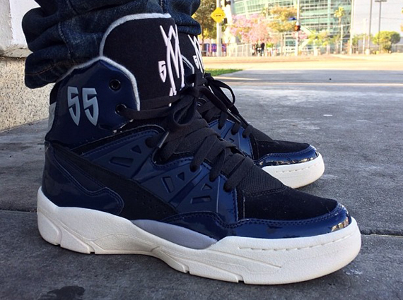 adidas mutombo black patent leather sample sneakernewscom