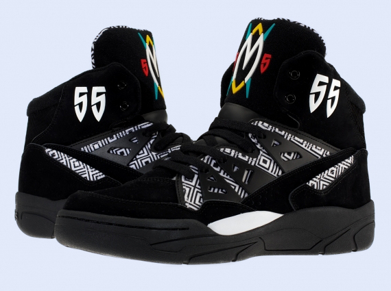 The most muted of adidas Mutombo colorways to make the retro rounds yet is this one. The sneakers go pretty skimpy on the colors-only the shield logo on the
