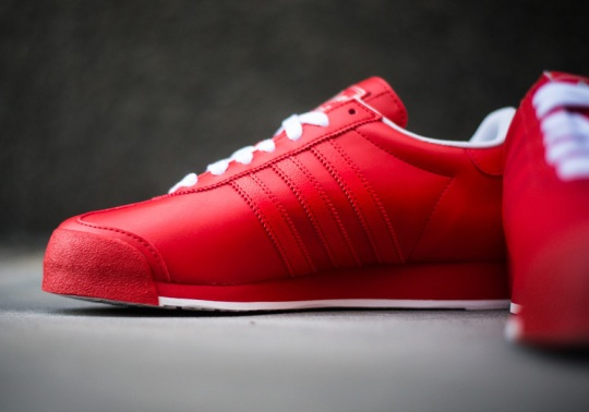 adidas Originals Samoa – Poppy – Running White