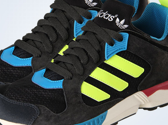 timeless design 2c004 cb42f adidas Originals ZX 5000 Response - Black - Blue - Neon ...