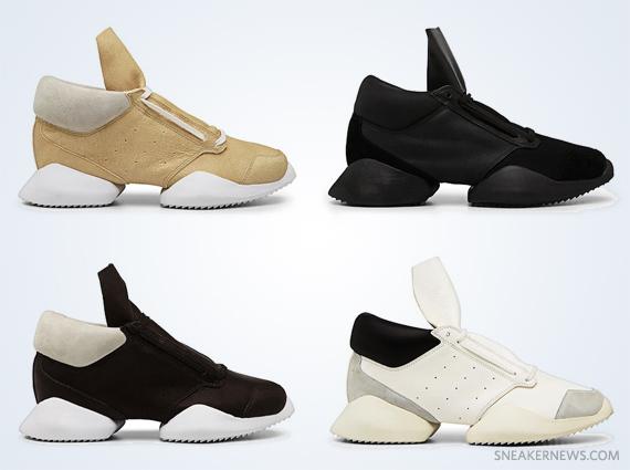 free shipping 3ddea 044ef Rick Owens x adidas - Spring/Summer 2014 Preview ...