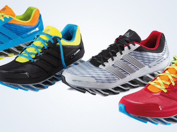 best cheap e6974 37415 adidas Springblade Available on miadidas - SneakerNews.com