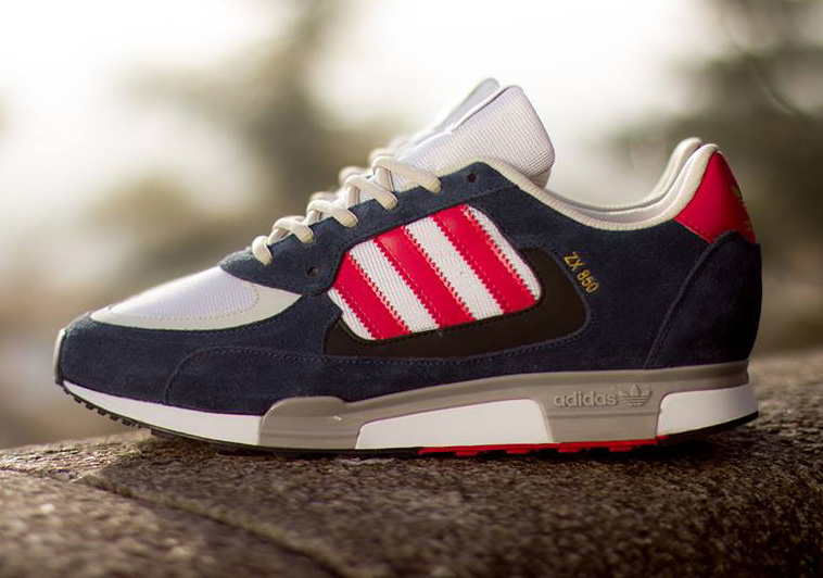 e9026c597c77a adidas ZX850 - New Navy - Running White - Red - SneakerNews.com