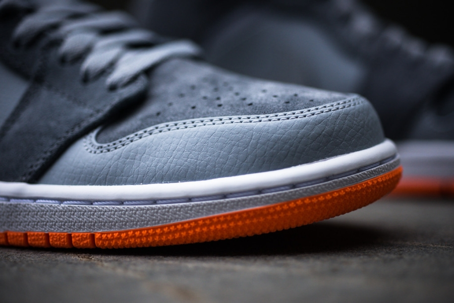 d8314e0df271 Air Jordan 1 Mid Color  Wolf Grey Atomic Orange Available on eBay. show  comments