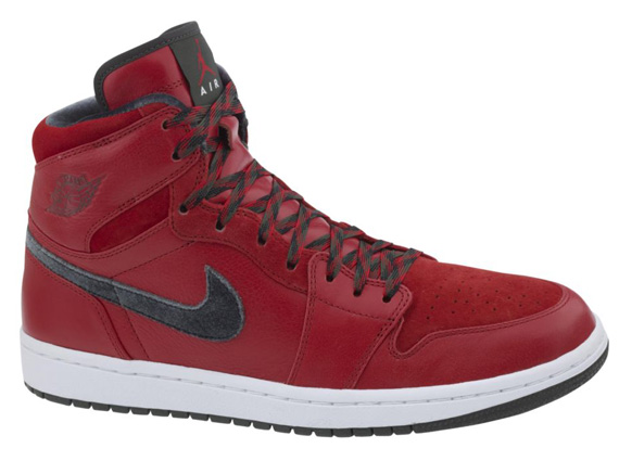 cacbc81631559 Air Jordan 1 Retro Hi Premier Color  Varsity Red Dark Army-White Style  Code  332134-631. Release Date  12 02 13. Price   115. Purchase  on eBay