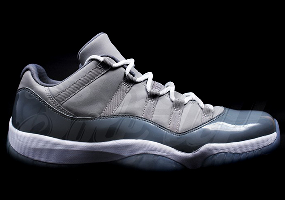"Air Jordan 11 Low ""Cool Grey"" - SneakerNews.com Jordan 11 Low Cool Grey 2014"