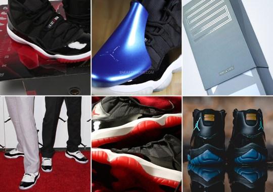 A Look Back at December Air Jordan 11 Releases