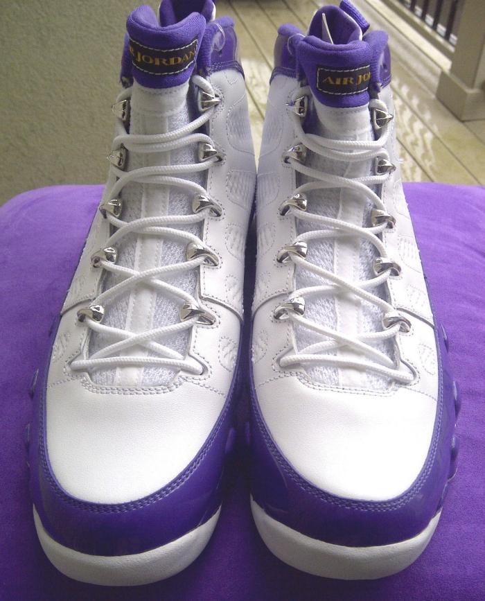 sale retailer 5bb10 29148 ... cheap air jordan 9 kobe bryant lakers pe on ebay sneakernews f41f9 2a201