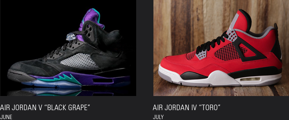 """timeless design e75f3 9ee7e Just when you thought the Air Jordan V """"Grape"""" was perfect as is, Jordan  Brand decided to switch out the white leather for black suede, ..."""