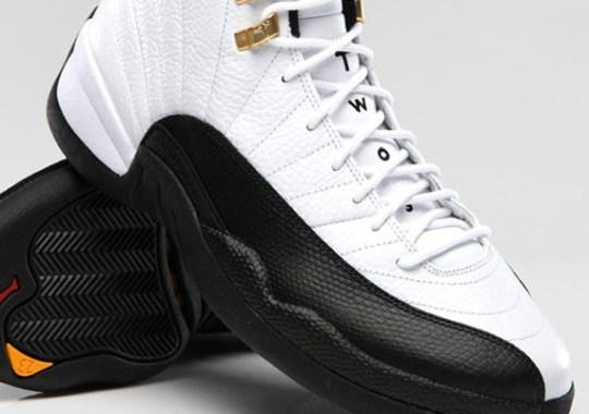 "Air Jordan 12 ""Taxi"" – Official Images"