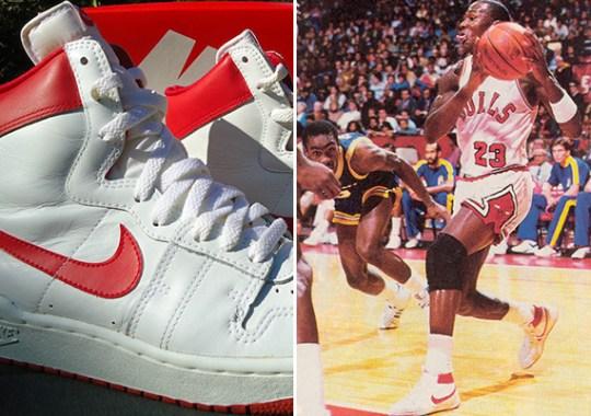 Nike Air Ship High OG – Michael's Shoes Before the Air Jordan 1