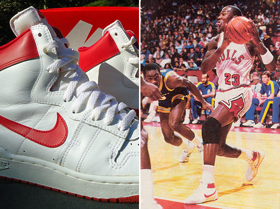 official photos 1776b d5591 Nike Air Ship High OG – Michael s Shoes Before the Air Jordan 1