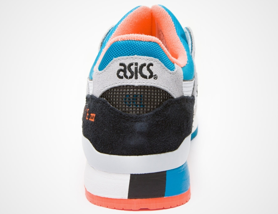 Asics Gel Lytt Iii Grå-blå-svart-orange Wgb0ZBQkv