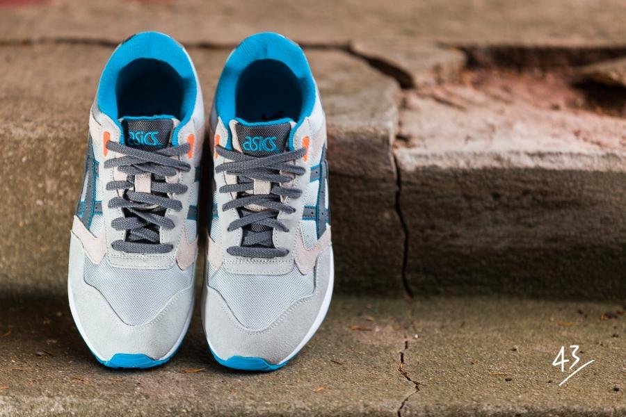 huge selection of e60fe 5a878 Asics Gel Saga - Grey - Orange - Blue - SneakerNews.com