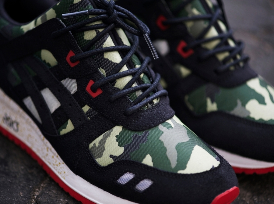 asics gel lyte iii camo for sale