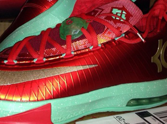 "new product 79456 17e4e ""Christmas"" Nike KD 6"
