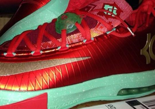 """""""Christmas"""" Nike KD 6"""