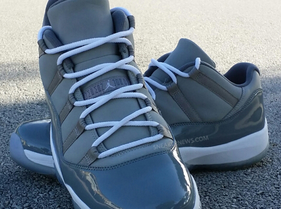 "Air Jordan 11 Low ""Cool Grey"" PE for Michael Jordan ... Jordan 11 Low Cool Grey 2014"