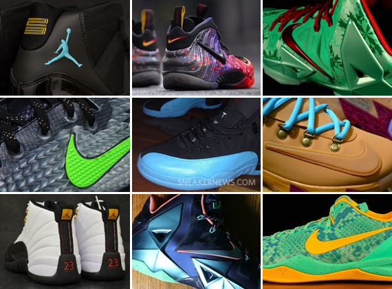 Sneakers Releasing December 2013
