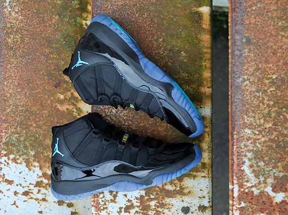 air jordan 11 blue gamma