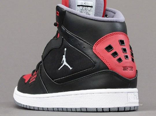 Jordan 1 Flight – Black – Gym Red – White