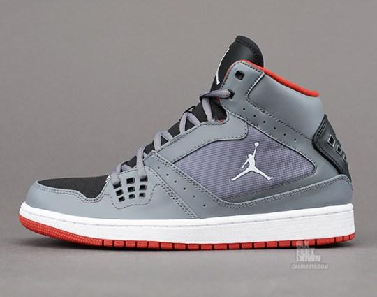 Jordan 1 Flight – Cool Grey – Black – Gym Red – White