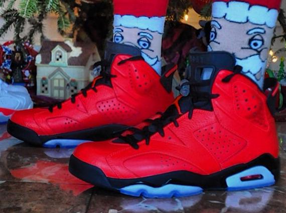 "Air Jordan 6 ""Infrared 23"" - On-Feet Image - SneakerNews.com"