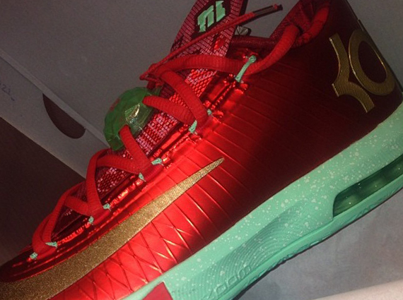 Kd Christmas 6 The Nike KD 6  Christmas  will