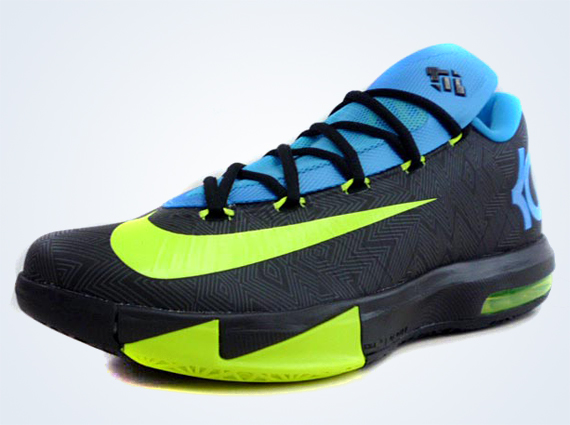 812c484b32a8 If you were wondering what s next on the menu for the KD 6 then wonder no  more. This black and volt colorway will release on January 11th
