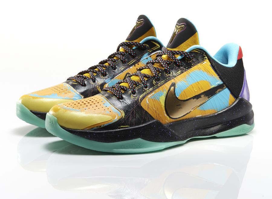kobe 5 prelude pop art Inspired by Pop Art & Finals MVP: Nike Kobe 5 Prelude