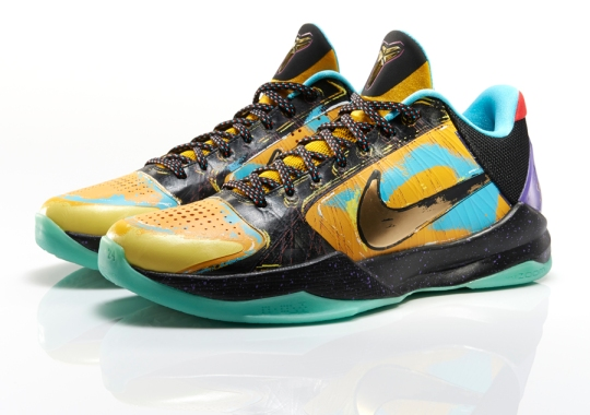 Inspired by Pop Art & Finals MVP: Nike Kobe 5 Prelude