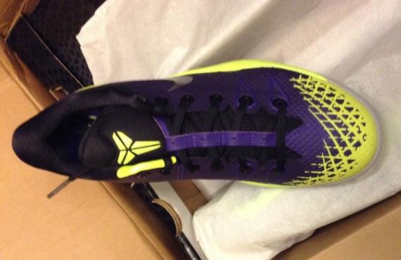 pretty nice 9b08c 62c3e Nike Zoom Kobe Venomenon 4 - Court Purple - Wolf Grey - Volt  Release Date  - SneakerNews.com