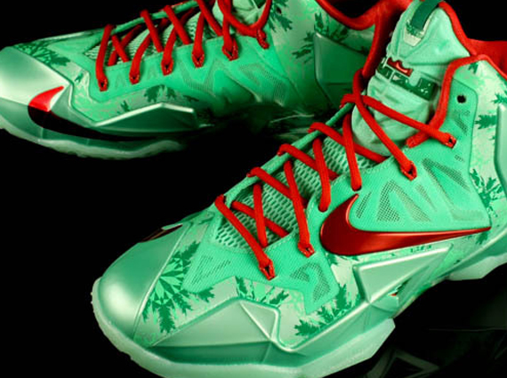 "new arrival 4393b c875f Nike LeBron 11 ""Christmas"" – Release Date"