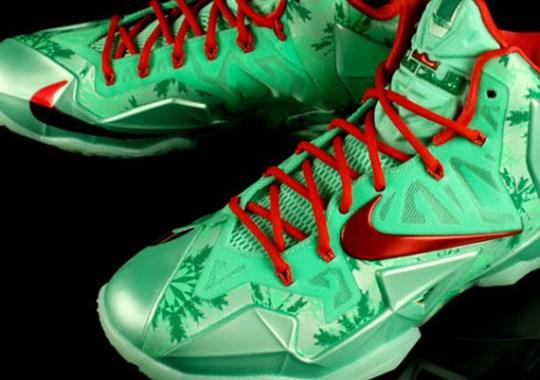 "Nike LeBron 11 ""Christmas"" – Release Date"