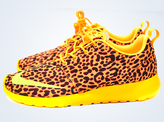 "best service 20953 edf9a Nike Roshe Run heads have been waiting a long time for this one the Nike  Roshe Run FB ""Leopard"" is releasing in the US this Saturday, December 28th  on ..."
