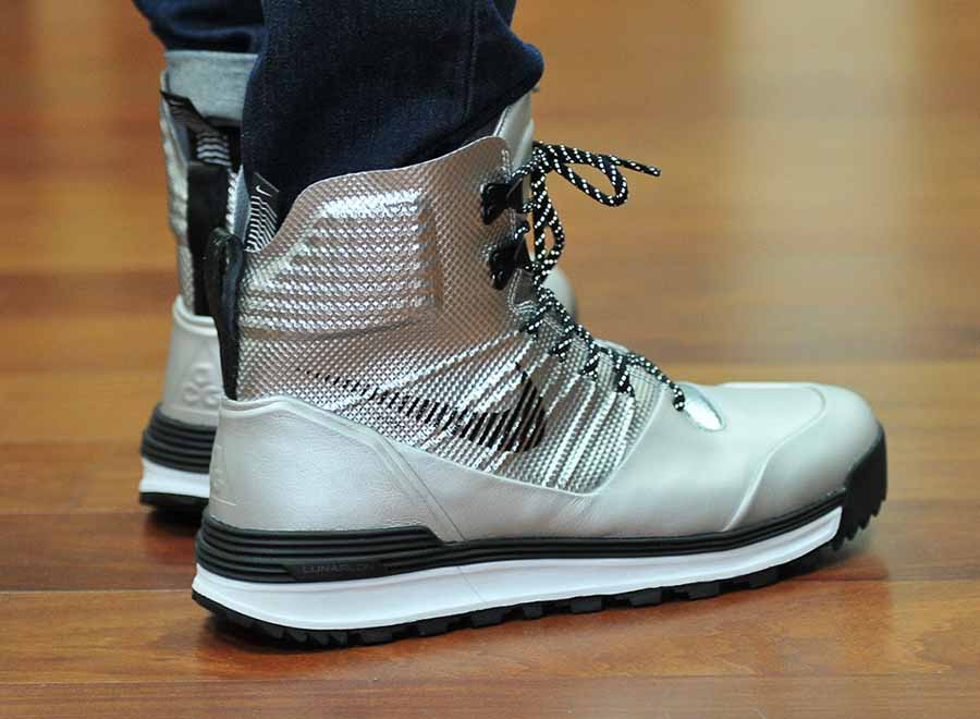 finest selection 0d678 ca9e1 Nike LunarTerra Arktos - Silver - Black - SneakerNews.com