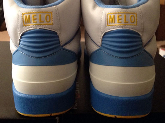 "Air Jordan 2 – Carmelo Anthony ""Nuggets Home"" PE"