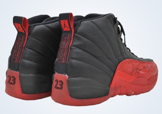 "Michael Jordan's Original Air Jordan 12 ""Flu Game"" Sells for $104,765"