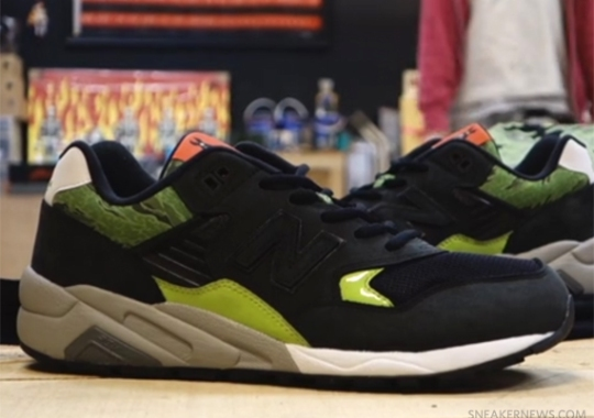 mita sneakers x SBTG x New Balance MRT580SM – Video Preview