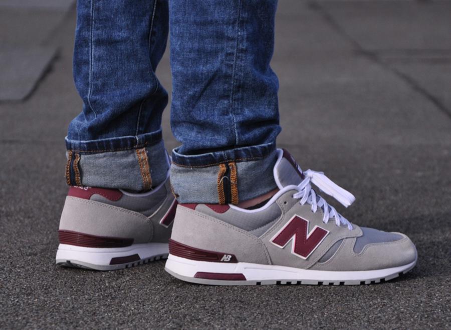 nowe niższe ceny nowe promocje duża zniżka New Balance 565 - Grey - Burgundy - SneakerNews.com