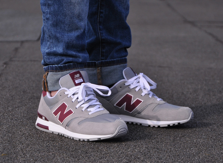 maroon new balances